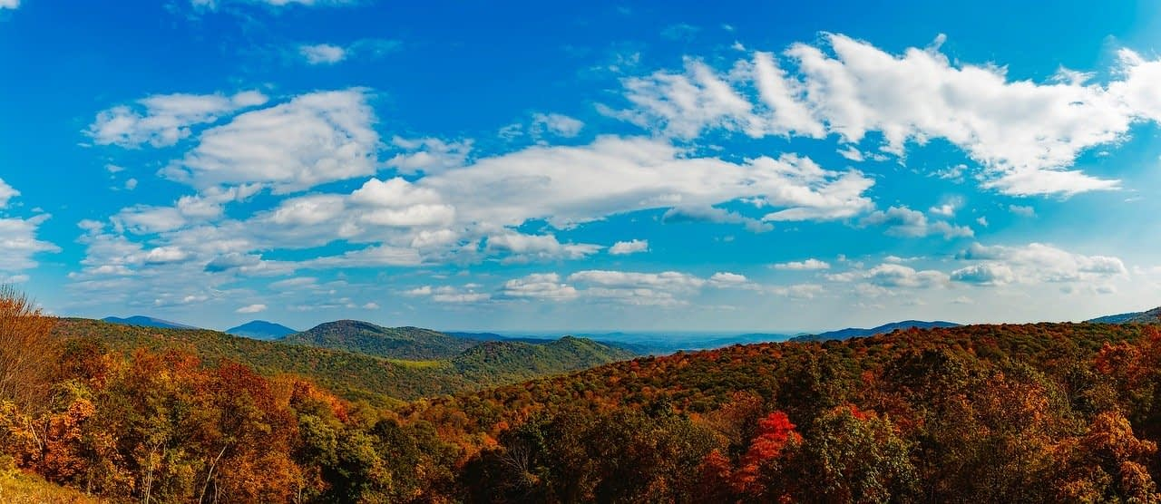 shenandoah valley by campervan